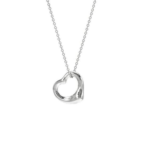 735e6aafa Tiffany & Co. Elsa Peretti Open Heart Sterling Silver Necklace. nextprev.  prevnext