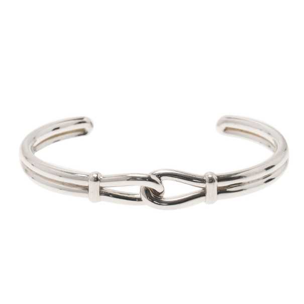 a448d5178 Buy Tiffany & Co. Paloma Picasso Knot Silver Cuff Bangle XL 7603 at ...