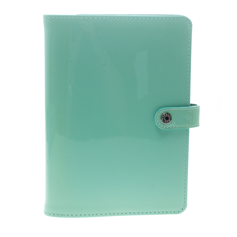 b4d1850795 Buy Tiffany & Co. Tiffany Green Patent Leather Notebook Organizer ...