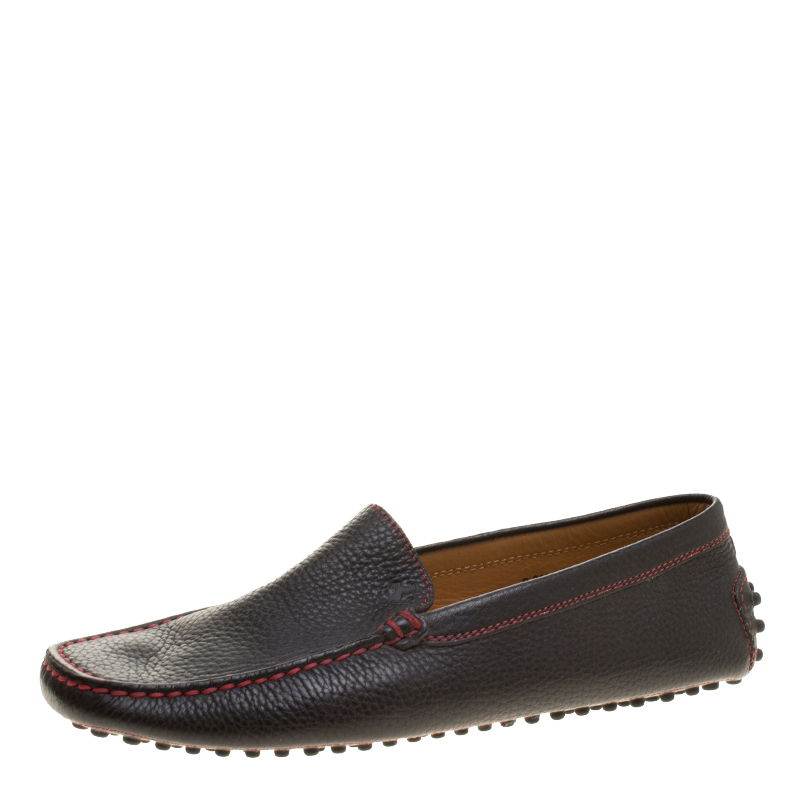 befc34e173d Buy Tod s for Ferrari Black Leather Moccasins Size 39.5 143412 at ...