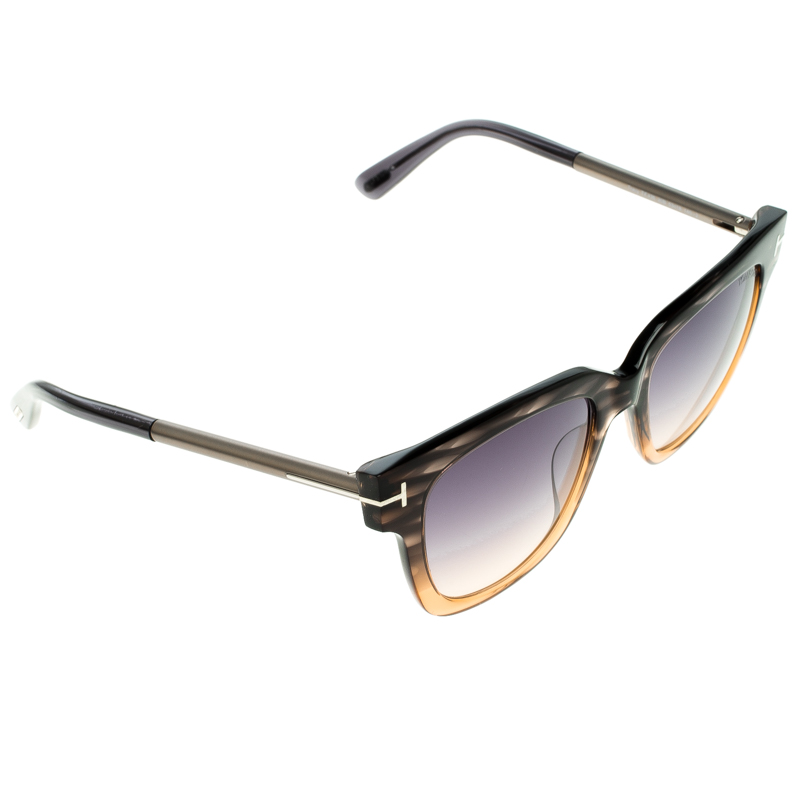 b1ee399a990c6 Buy Tom Ford Brown TF436 Tracy Sunglasses 102556 at best price