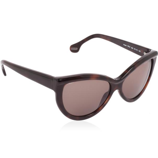 ec167e71026 Buy Tom Ford Brown Anouk Cat Eye Woman Sunglasses 28055 at best ...