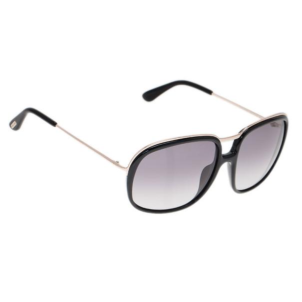 86704cbec إشتري نظارة شمسية توم فورد كوري أسود مربعة 8170 بأفضل الاسعار   ذا لاكشري  كلوزيت