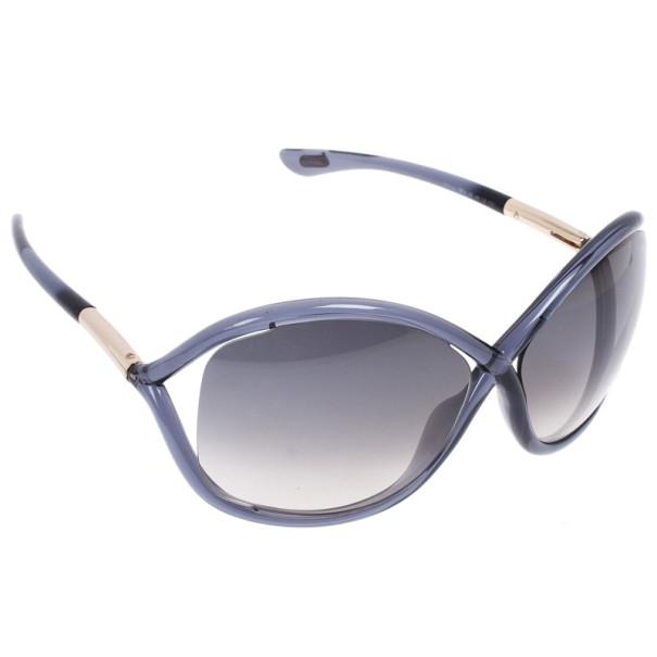 92d07004709c4 Buy Tom Ford Grey Whitney Women s Sunglasses 15054 at best price
