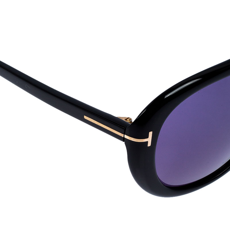Tom Ford Black/Blue Marley Aviator Sunglasses Tom Ford