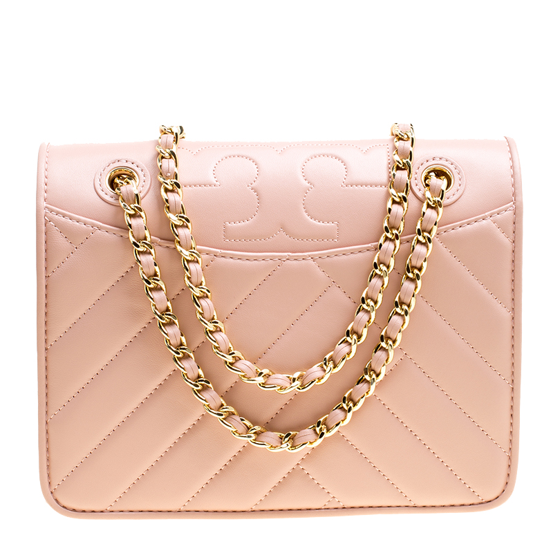 356c13dea795 ... Tory Burch Dark Pink Quartz Leather Alexa Convertible Shoulder Bag.  nextprev. prevnext