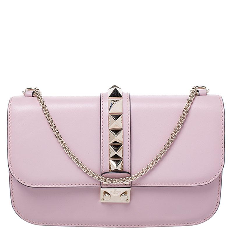 Rockstud Medium Glam Lock Flap Bag
