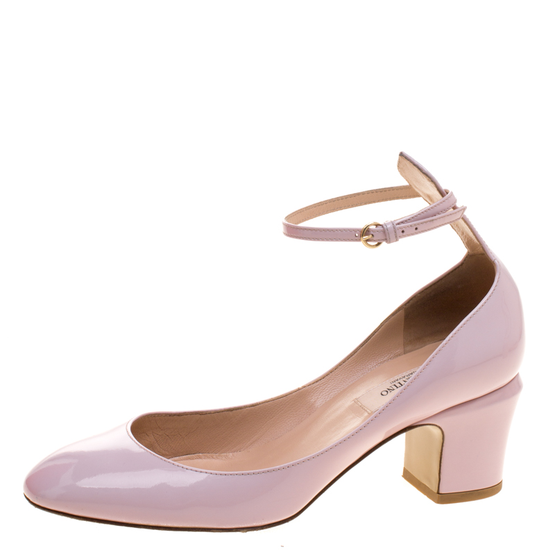 59758f024897 ... Valentino Blush Pink Patent Leather Tango Ankle Strap Pumps Size 36.5.  nextprev. prevnext