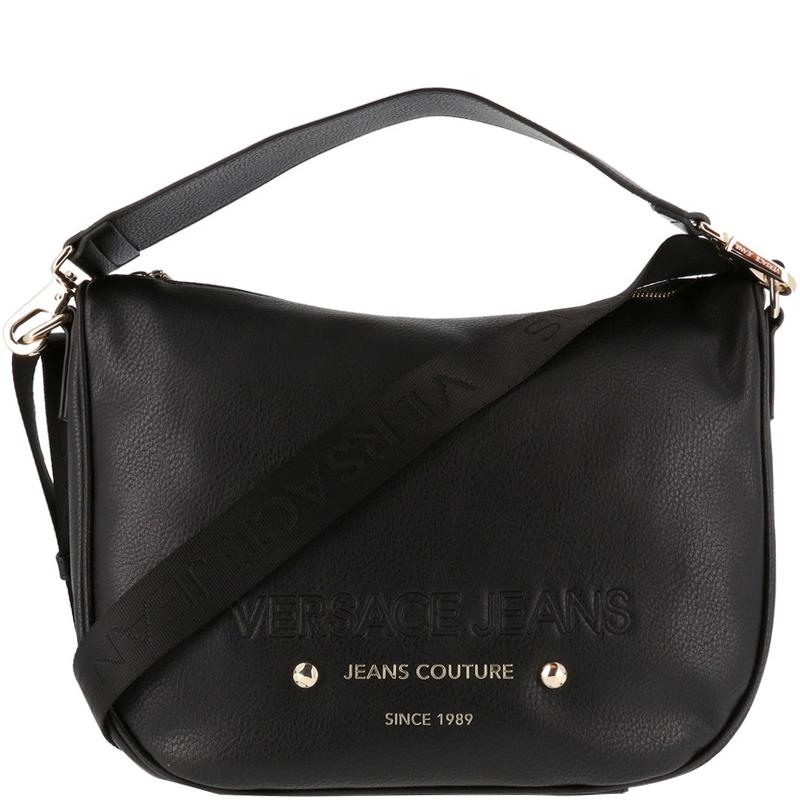 1e2d81d33a7 ... Versace Jeans Black Faux Pebbled Leather Messenger Bag. nextprev.  prevnext