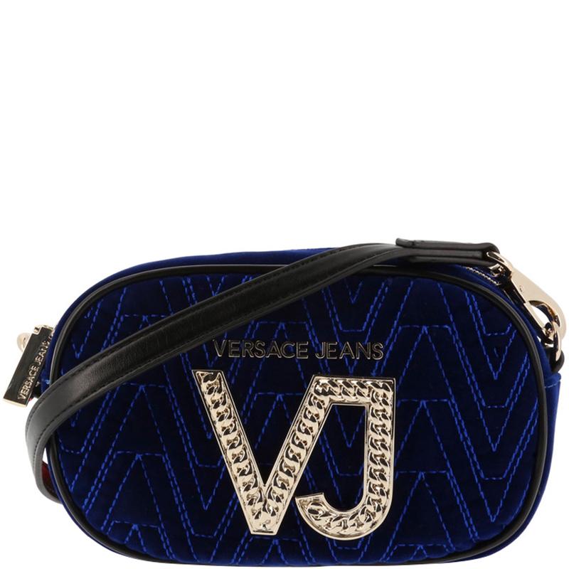 e3478a2a22 ... Versace Jeans Bue Signature Fabric Crossbody Bag. nextprev. prevnext
