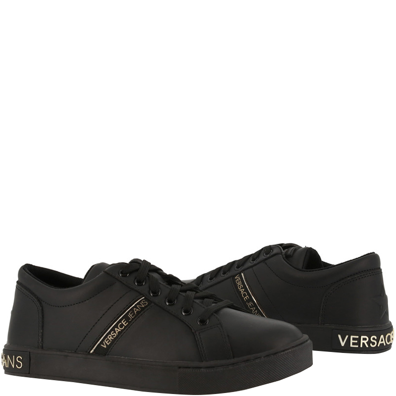 Versace Jeans Black Fabric and Faux