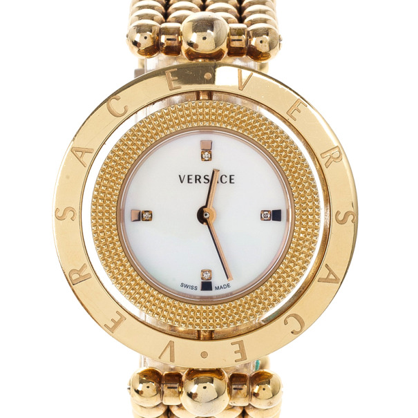 23901f252c Versace Eon Gold Plated Steel Womens Wristwatch 25M