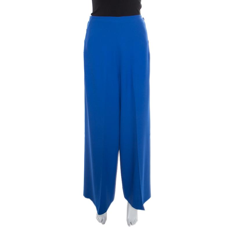 2983c388e02 ... Yves Saint Laurent Vintage Blue High Waist Wide Leg Pants M. nextprev.  prevnext