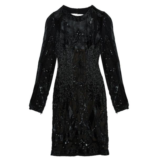 Zuhair Murad Embellished Short Dress M