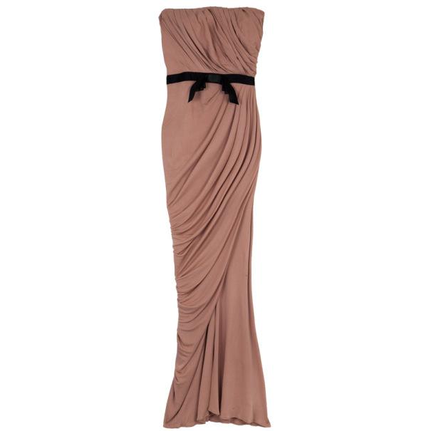 Zuhair Murad Strapless Stretch Gown S