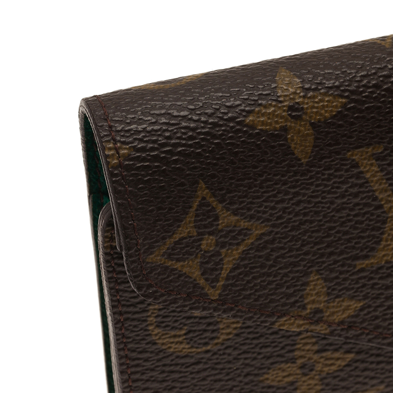 Louis Vuitton Brown Monogram Canvas Wallet