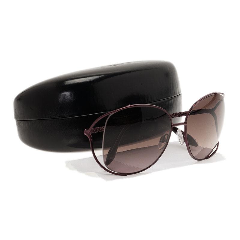 Roberto Cavalli Brown Girasole Sunglasses