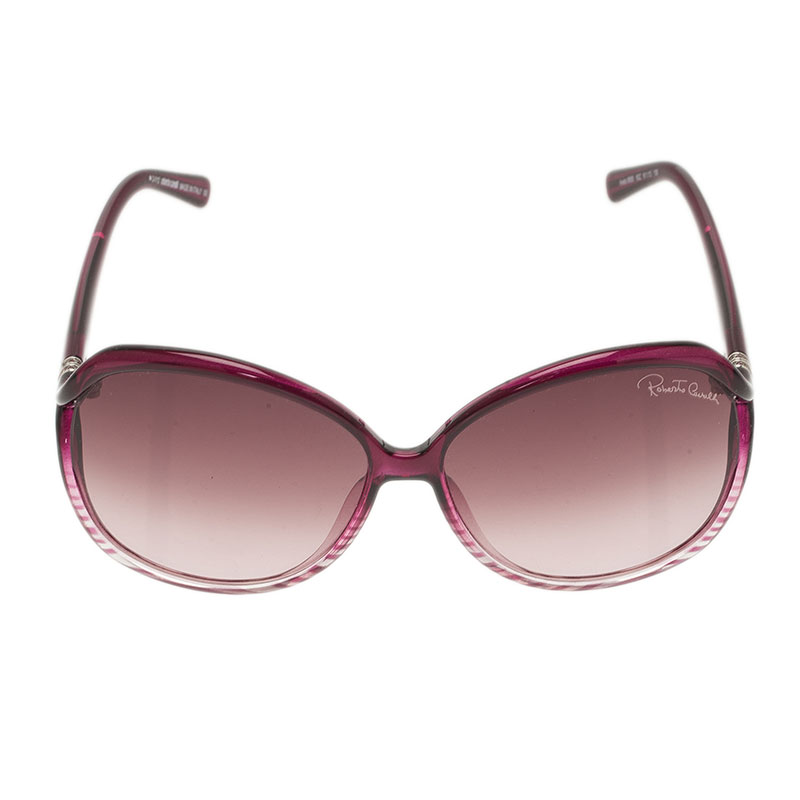 Roberto Cavalli Purple Aneto Square Sunglasses