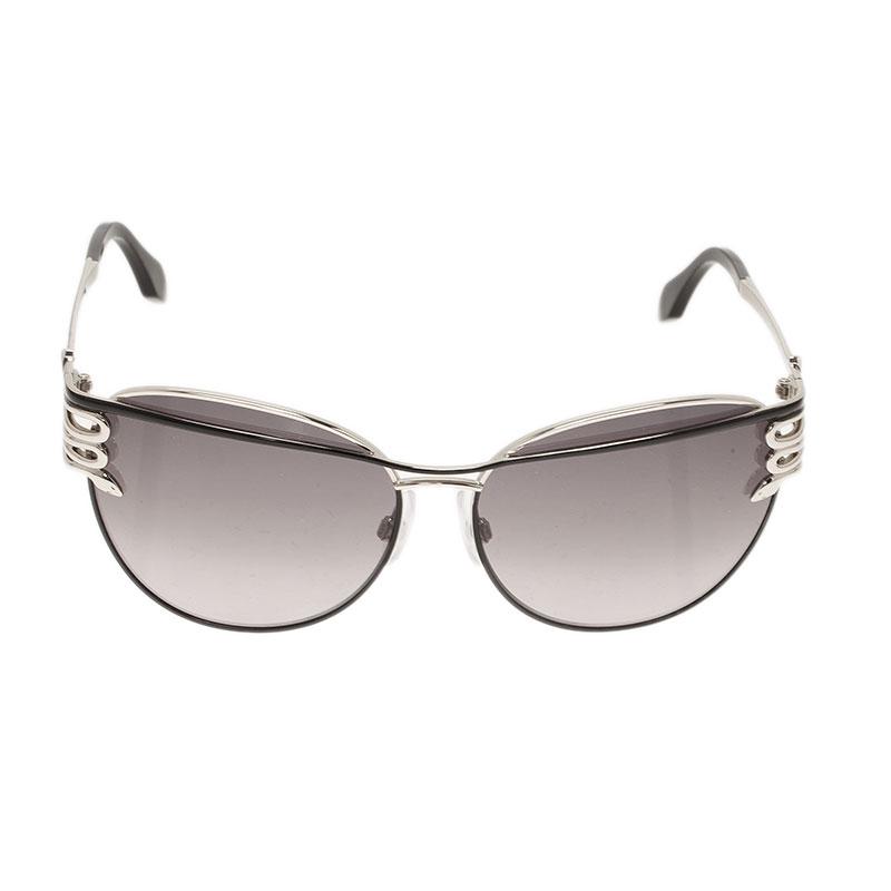 Roberto Cavalli Silver Mururoa Sunglasses