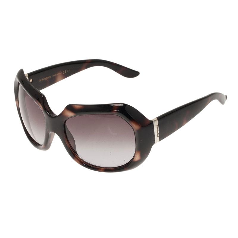 Saint Laurent Paris Brown 6376 Square Sunglasses