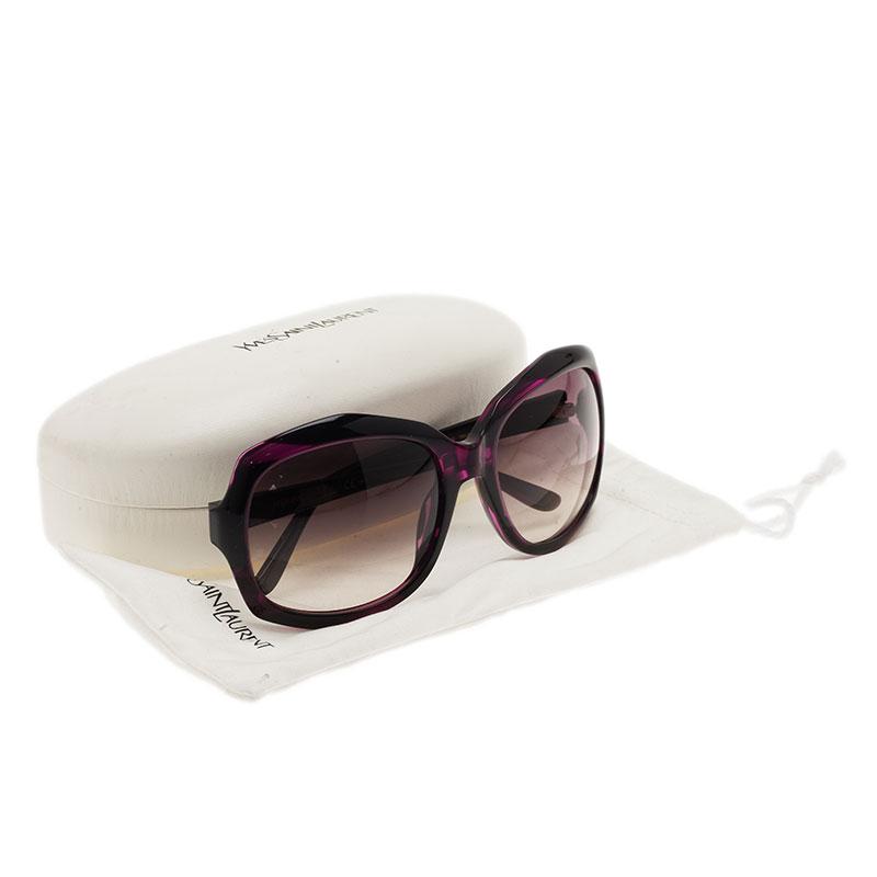 Saint Laurent Paris Purple 6375 Sunglasses