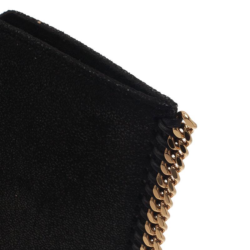 Stella McCartney Black Shaggy Deer Falabella Ipad Sleeve