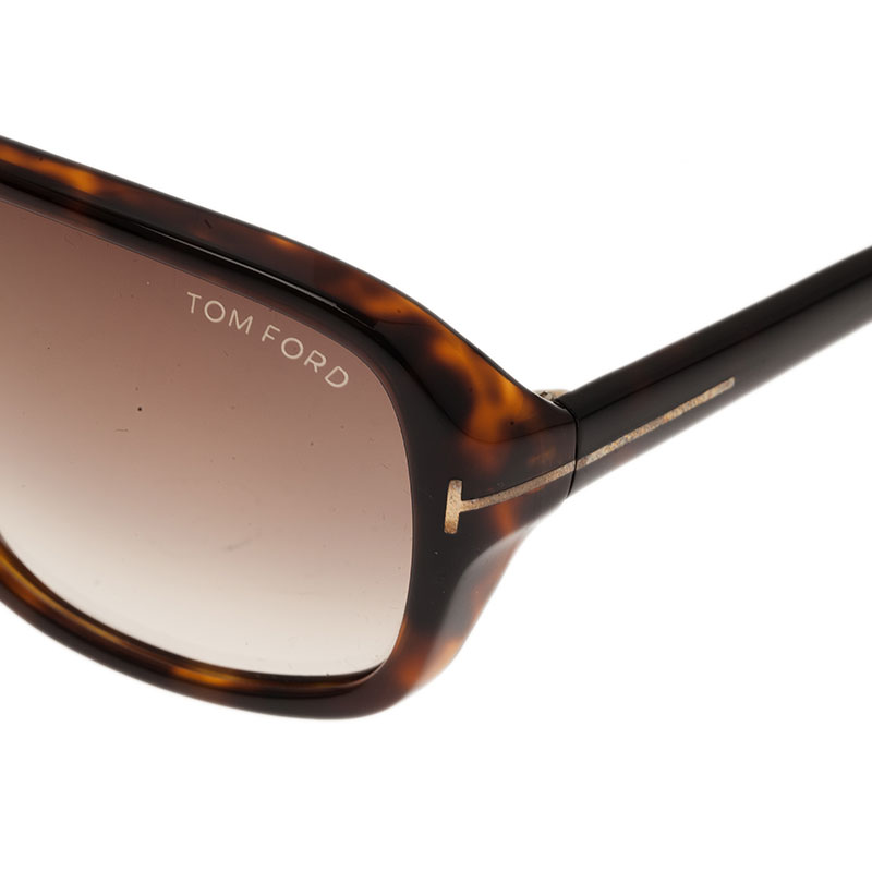 Tom Ford Tortoise Frame Blake Sunglasses